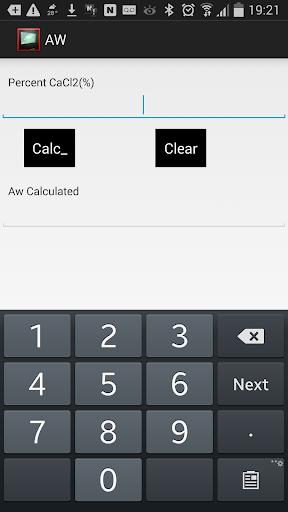 Oilmud - Activity calculator