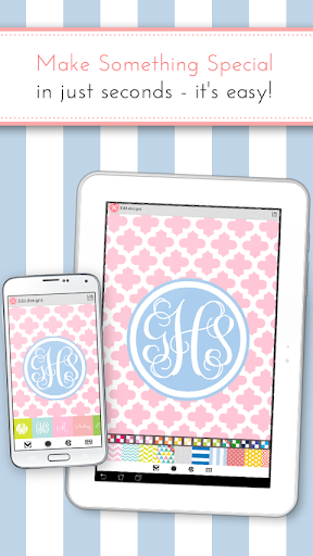monogram it  custom wallpapers for android