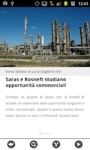 News finanza e borsa italiana- screenshot thumbnail