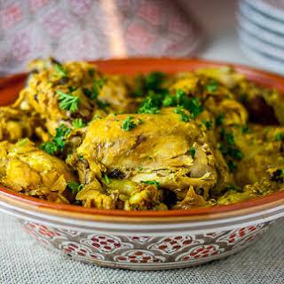 Moroccan Saffron Chicken.
