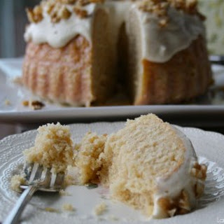 Maple Cream Cake