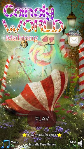 Hidden Mahjong: Candy World