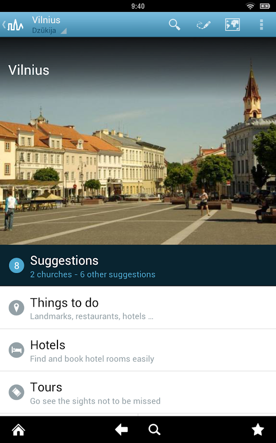 Lithuania Guide by Triposo- screenshot