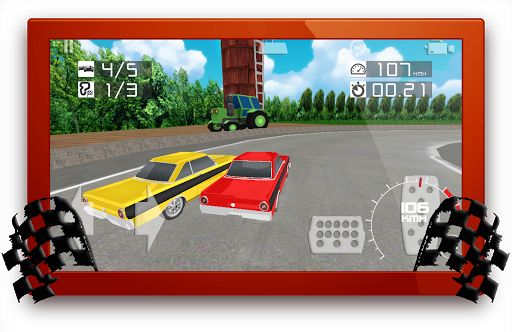 American Muscle Cars Run 3D