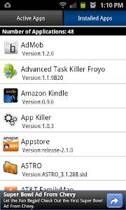 App Killer screenshot 1
