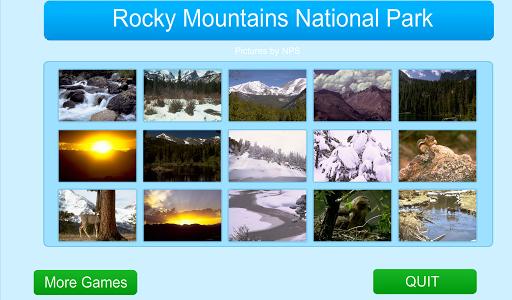 Rocky Mountains Jigsaw