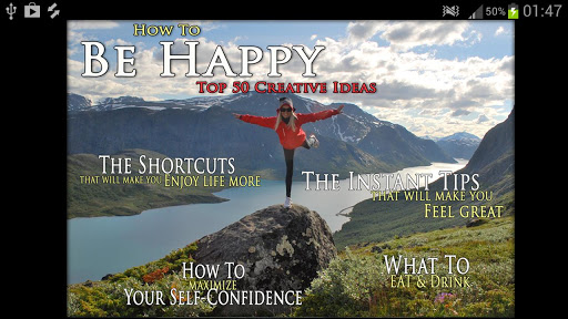 How to be happy and enjoy life