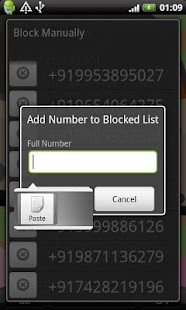 Block SPAM SMS - screenshot thumbnail
