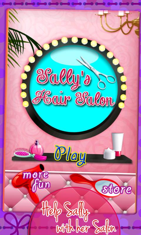 Sally's Hair Salon - screenshot