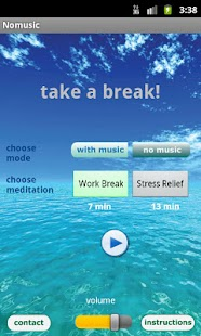 Free Meditation - Take a Break Screenshot