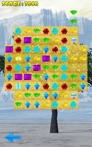 Match 3 Space Jewels
