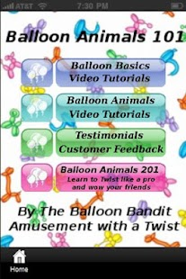Balloon Animals 101- screenshot thumbnail