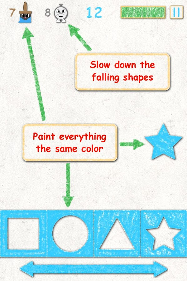 Shape Time!- screenshot