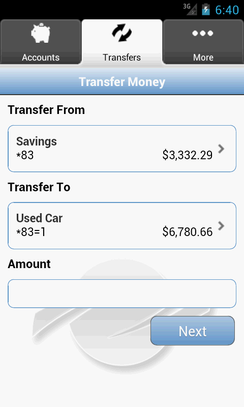 Centris Mobile Banking - screenshot