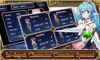 SRPG Legend of Ixtona APK screenshot thumbnail 2