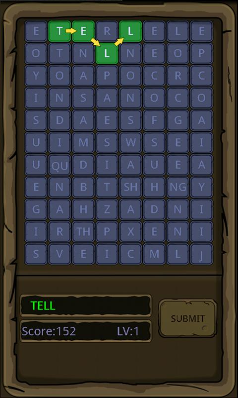 WordsHunter - screenshot