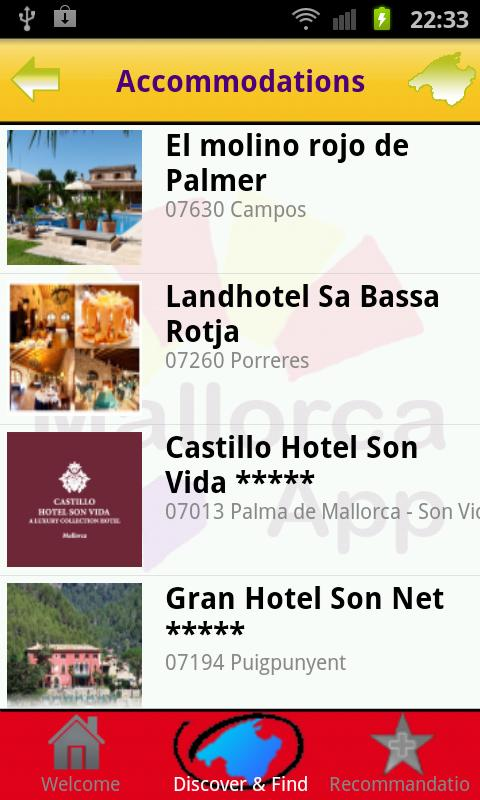 Mallorca App- screenshot