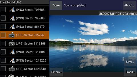 DiskDigger photo recovery Screenshot 23