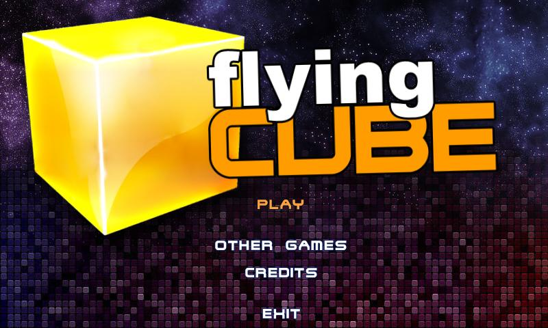 Flying Cube- screenshot