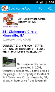 Gov. GSA Real Estate Auctions- screenshot thumbnail