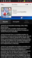 Screenshot of Radio UNO - Chilean Music