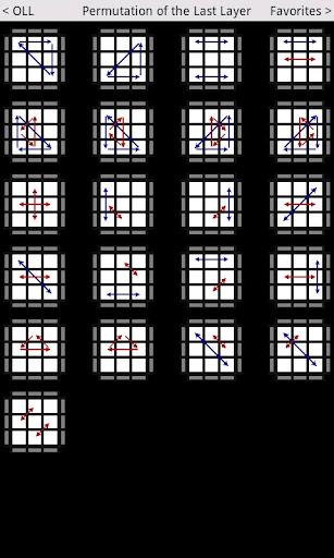Speed Cube Algorithms Lite  screenshots 2
