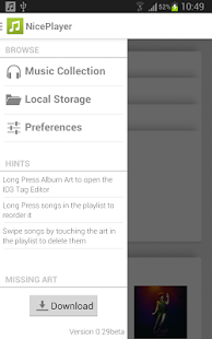 NicePlayer music player - screenshot thumbnail
