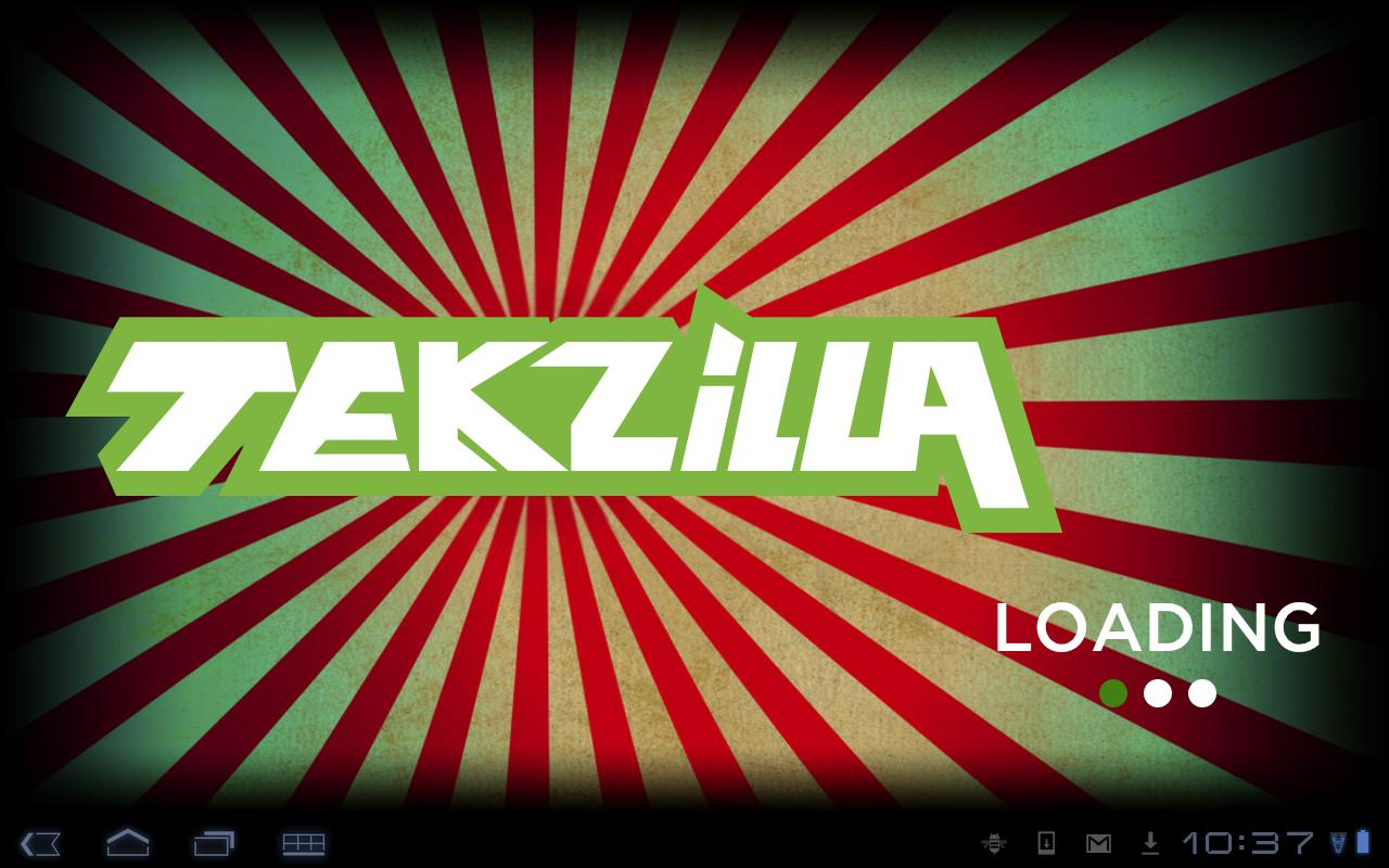 Tekzilla- screenshot