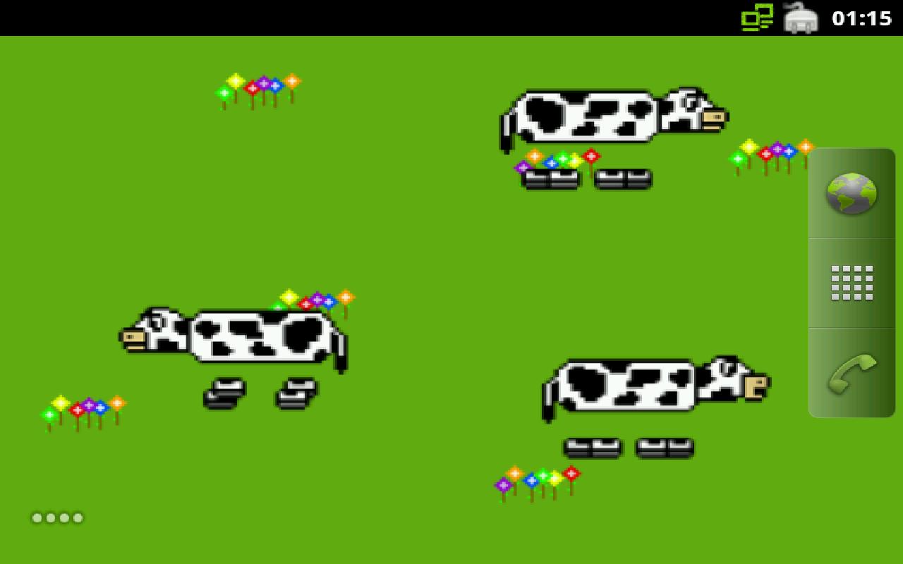 Cheesy Combo Live Wallpaper- screenshot