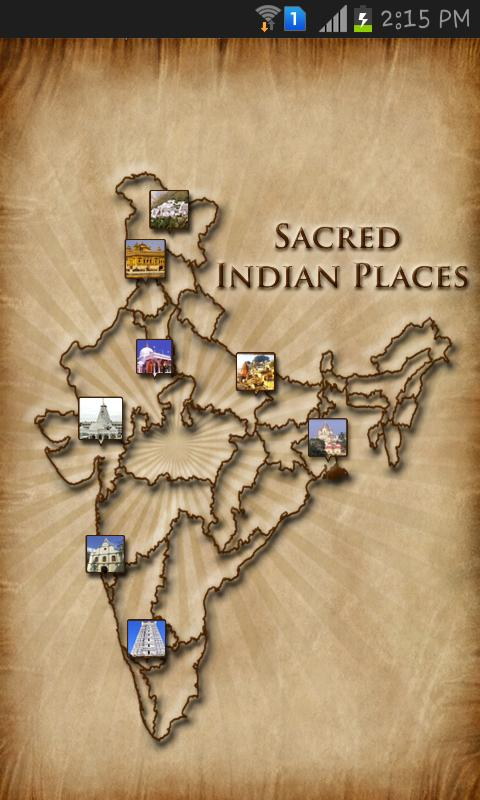 Sacred Indian Places - screenshot