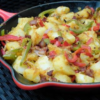 Easy Skillet Breakfast Potatoes.