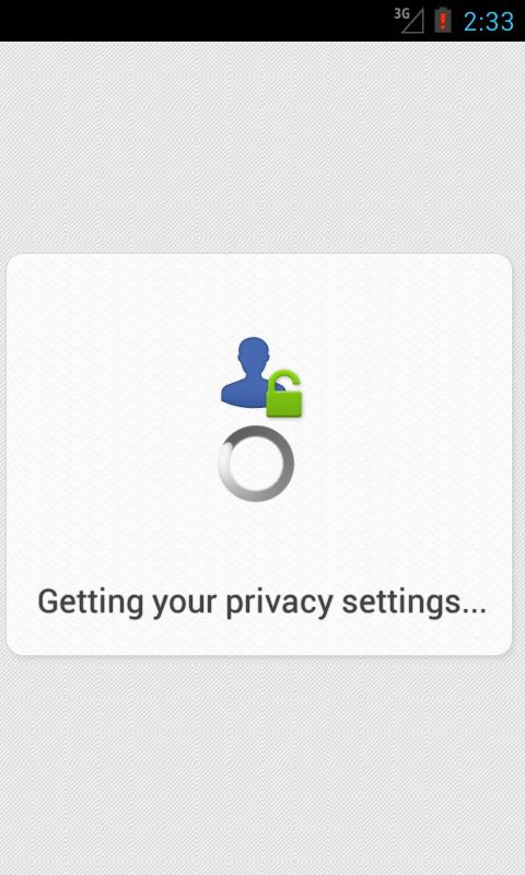 Privacy Scanner for Facebook - screenshot