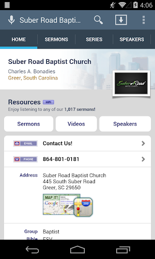 Suber Road Baptist Church