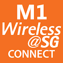 M1 Wireless@SG Connect -Tablet logo