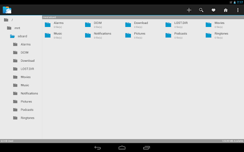 inKa File Manager - screenshot thumbnail