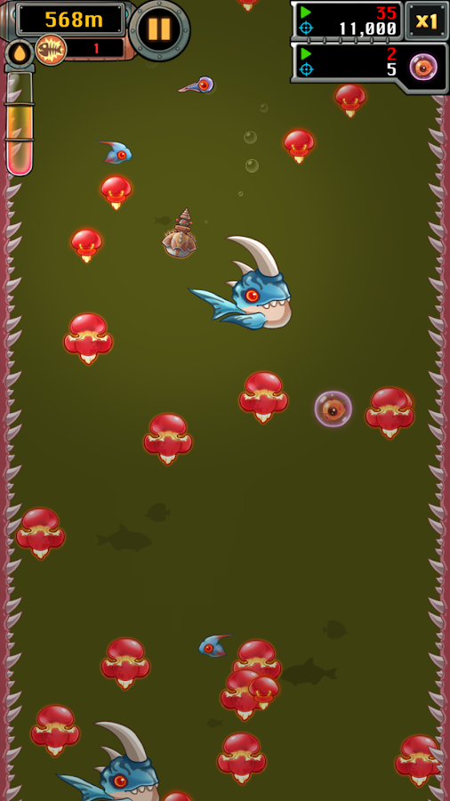 Mobfish Hunter - screenshot