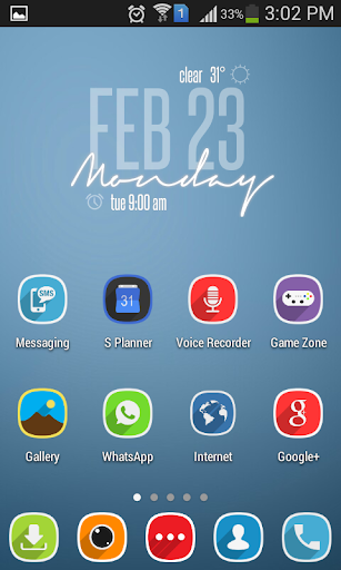 Cassata HD MultiLauncher Theme