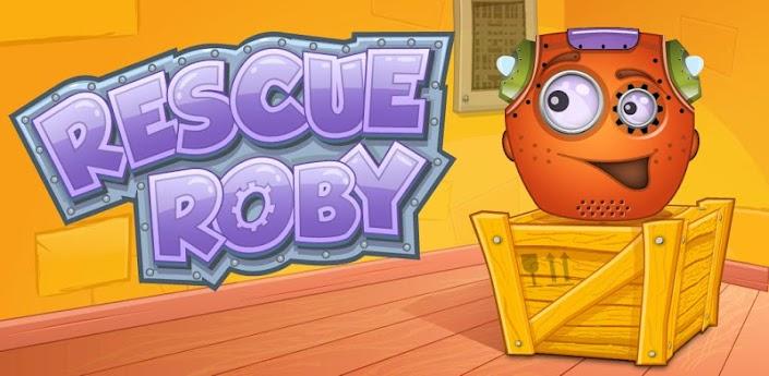 Rescue Roby (полная версия) - увлекательная физическая игра-головоломка для Андроид
