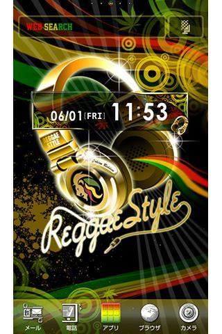 Reggae Style for[+]HOMEu304du305bu304bu3048u30c6u30fcu30de 1.4 Windows u7528 1