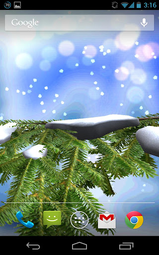 【免費個人化App】Christmas Tree Live Wallpaper-APP點子