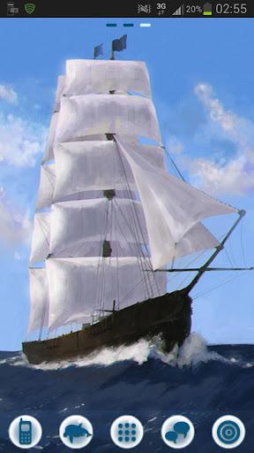 GOランチャーEXのテーマ海船