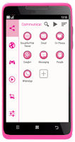 Screenshot of SL Beautiful Pink Theme