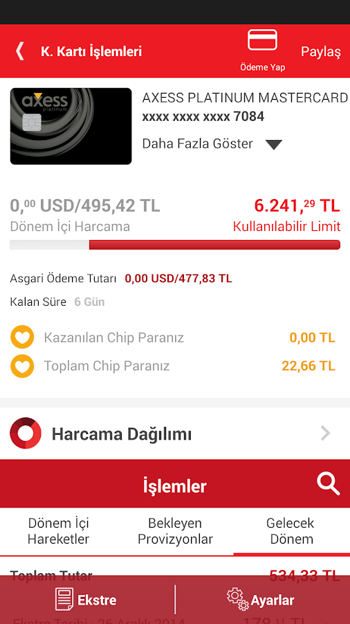Akbank Direkt - screenshot