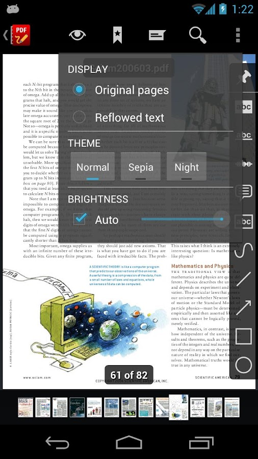 RepliGo PDF Reader - screenshot