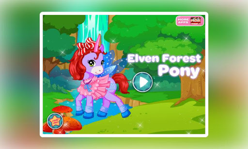Elven Forest Pony