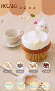 CUKI Theme Molang and coffee