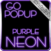 Purple Neon GO Popup theme