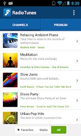 RadioTunes Screenshot 1