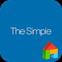 Simple_blue LINELauncher theme icon