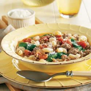 Sausage and Bean Ragout.